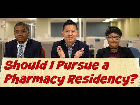 Should I Pursue a Pharmacy Residency?