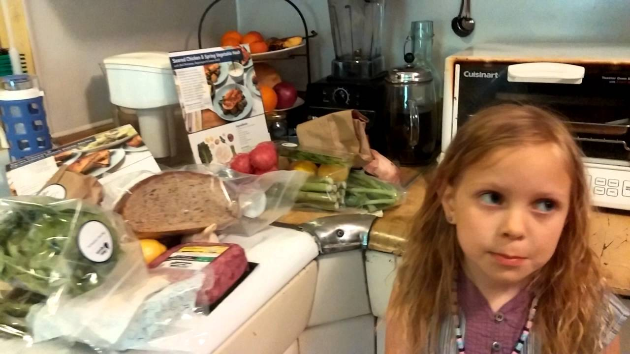 Blue apron top chef - Cooking With My Kids Our First Blue Apron Order 2016 12