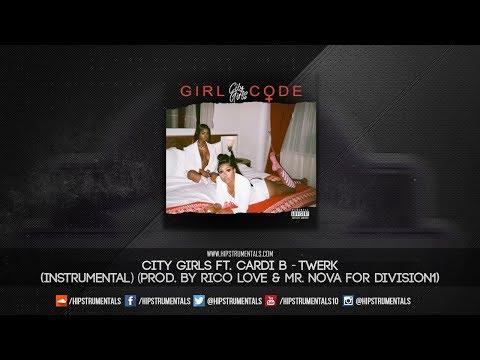 City Girls Ft. Cardi B – Twerk [Instrumental] (Prod. By Rico Love & Mr. Nova)