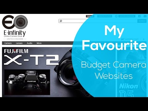 My TOP 5 Favourite Websites To Get BUDGET CAMERAS And GEAR