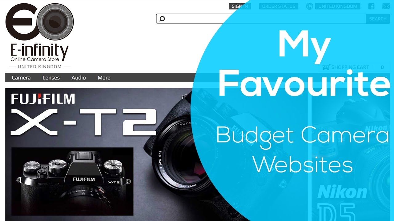 My top 5 favourite websites to get budget cameras and gear for Websites to shop online cheap