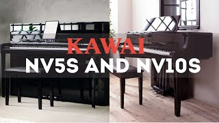 Kawai NV5S and NV10S: New Features and Improvements