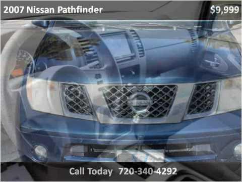 2007 nissan pathfinder used cars longmont co youtube for Victory motors trucks longmont