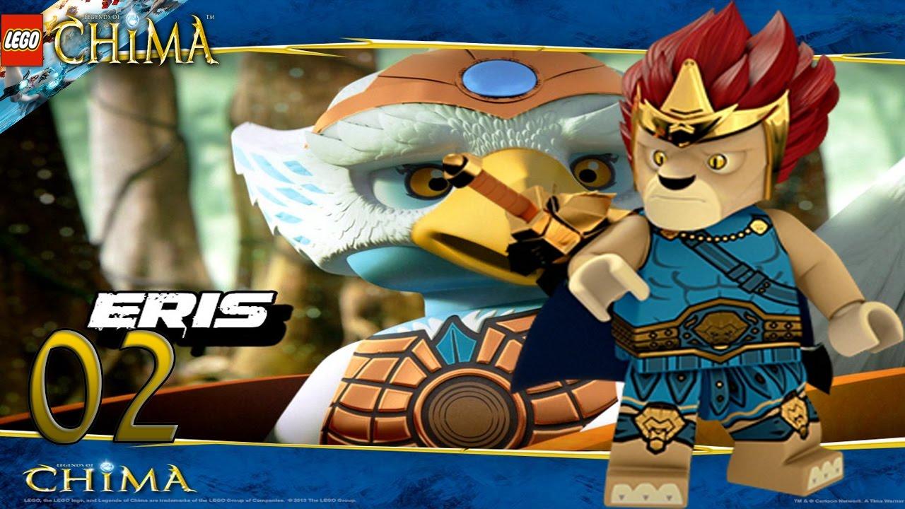 Lego chima le voyage de laval ep 2 eris youtube - Legende de chima saison 2 ...