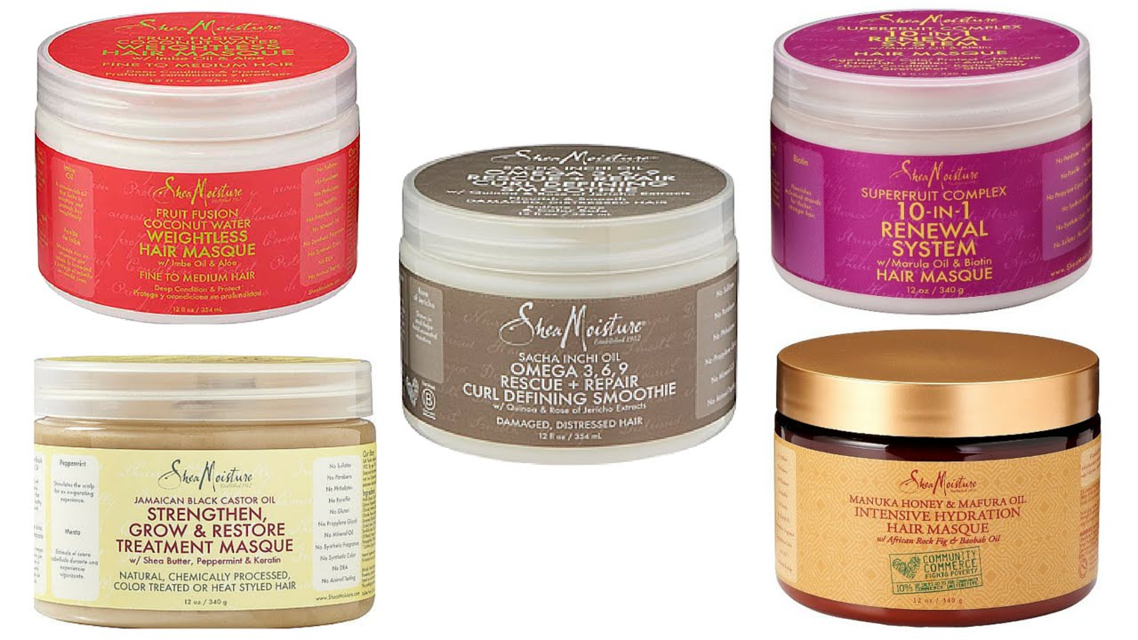 Battle Of Shea Moisture Deep Conditioners Best Quot Shea