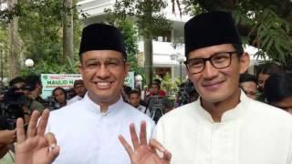 Jawaban Anies Sandi Iklan Tak Mendidik 'Pilih Mantu'