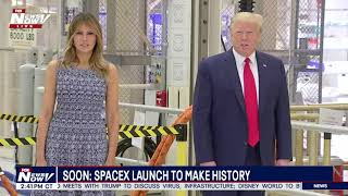 MAY GOD BE WITH THEM: President Trump Prays For SpaceX Astronauts