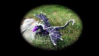 Part 1/4 Rainbow Loom Starflight/NightWing from Wings of Fire (1 Loom)