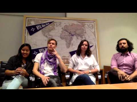 NYU Abu Dhabi 2020 Admitted Student Hangout