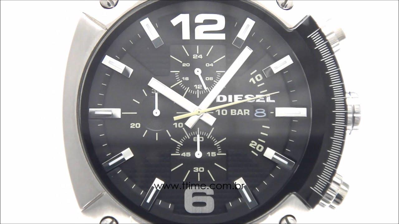93f7d695c63 Relógio Diesel DZ4296 0PI - YouTube
