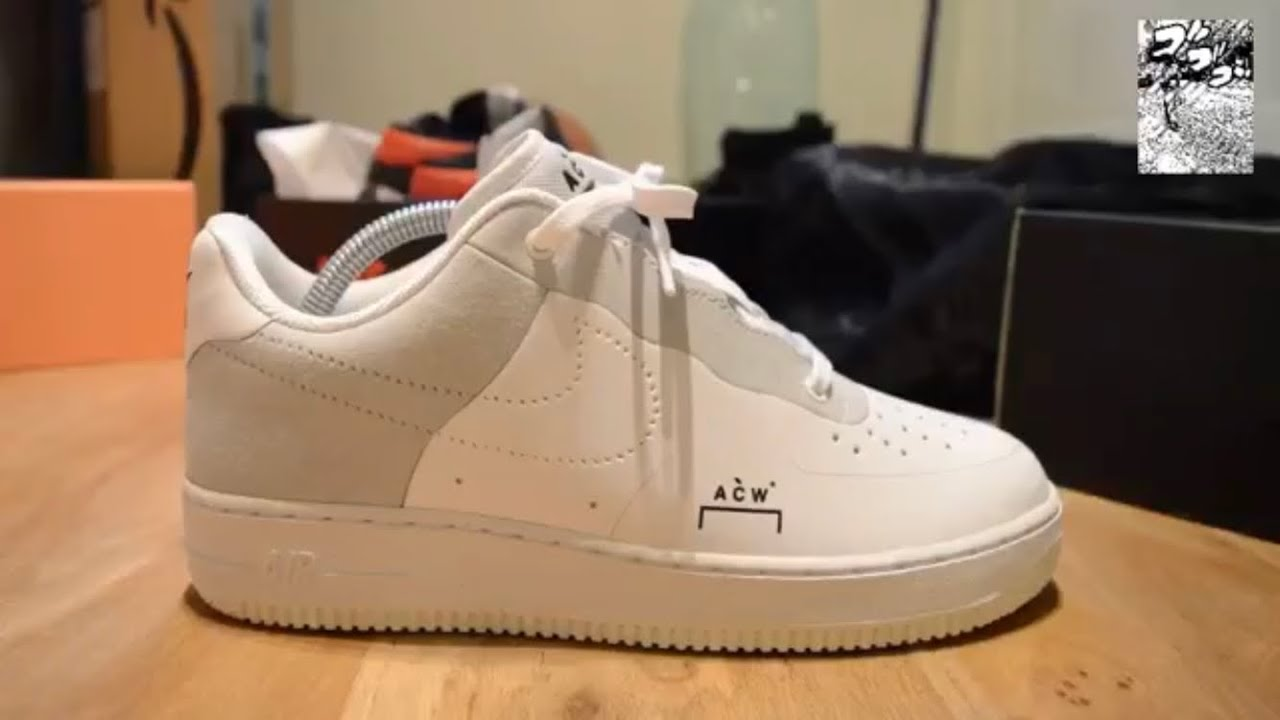 f11a84b2f621 Nike Air Force 1 x A Cold Wall  ACW  - YouTube