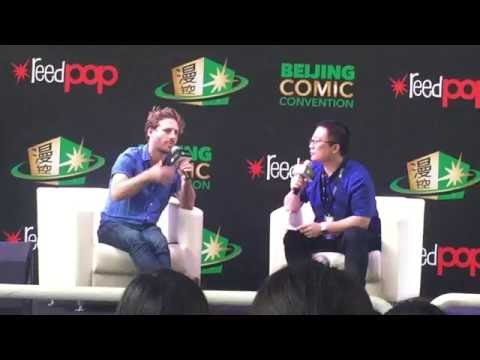 Dean O'Gorman in Beijing ComicCon talking about Richard Armitage