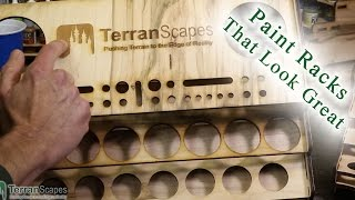 Terranscapes - Tgj Paint Racks Review