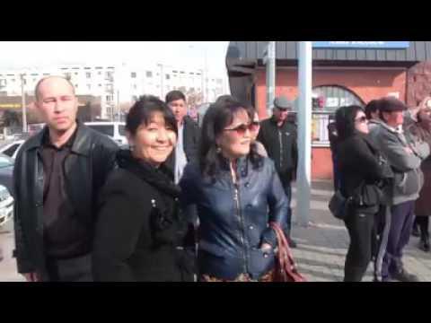 Флешмоб в Шымкенте 12.11.2016 г