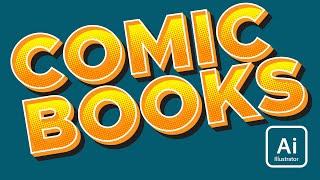 Create Comic Book Text in Illustrator