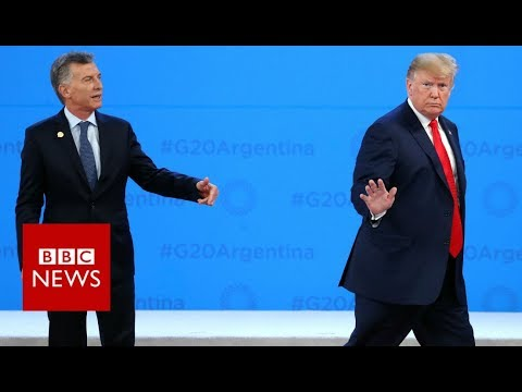 G20: Trump leaves Argentine leader in the lurch - BBC News