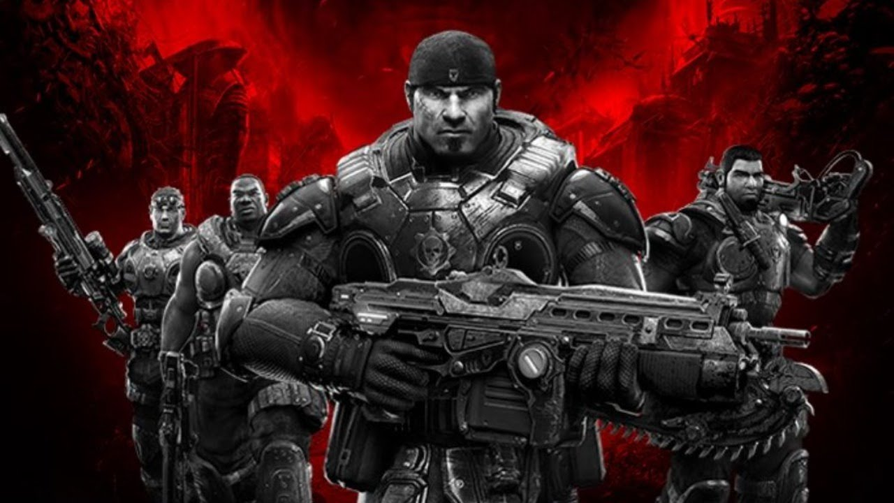 Gears of War has a crazy story
