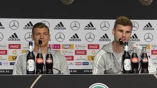 Timo Werner Interview über ein mögliches Sturmproblem in der Nationalmannschaft