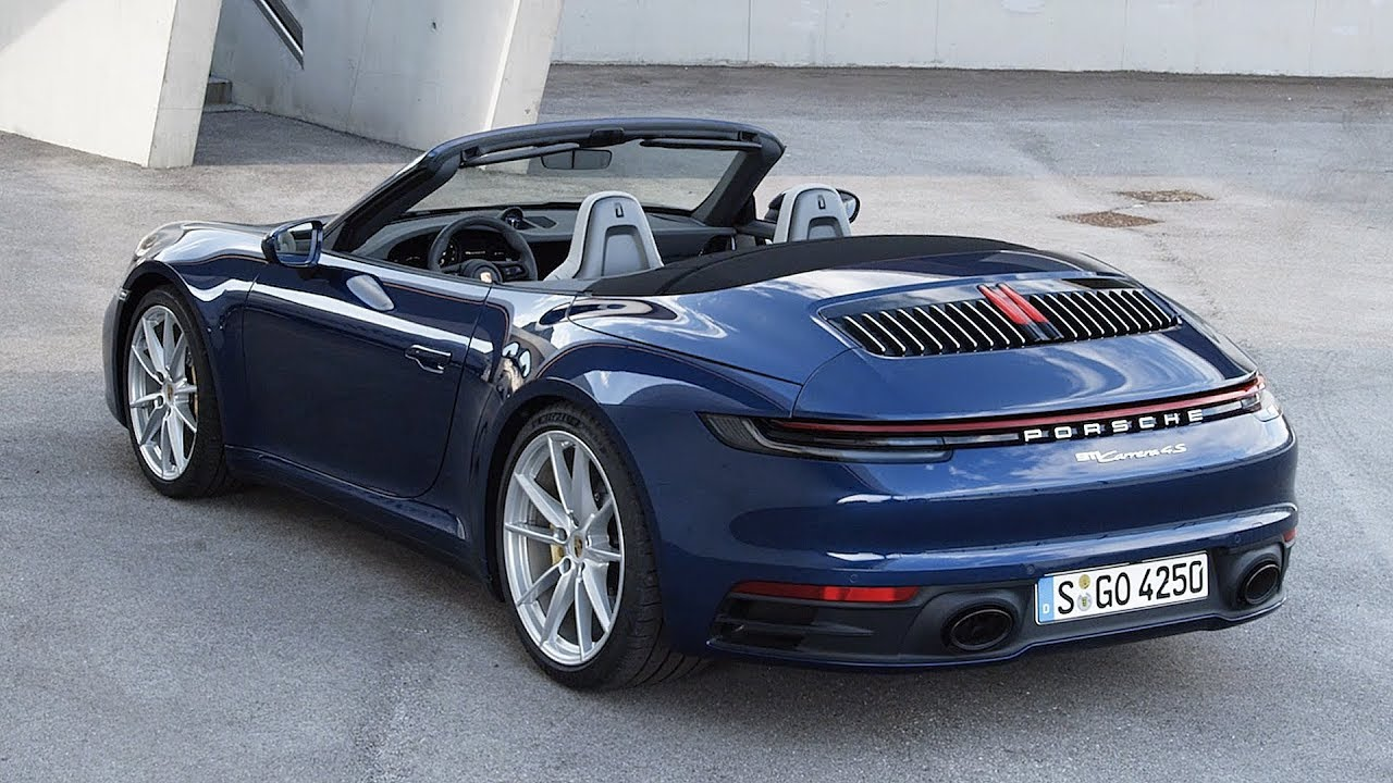 2019 porsche 911 carrera 4s cabriolet exterior interior. Black Bedroom Furniture Sets. Home Design Ideas