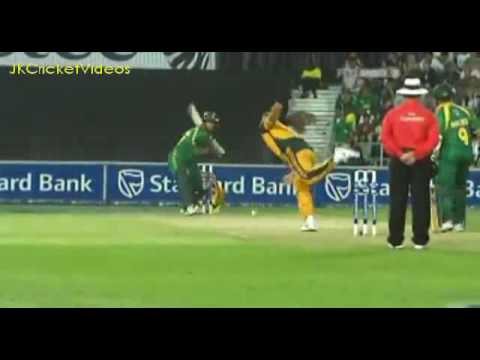 Albie Morkel HUGEEE Six 120 meters   Must Watch