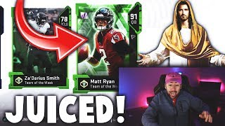 YUP MY PACKS ARE JUICED... Madden 19 TOTW Pack Opening