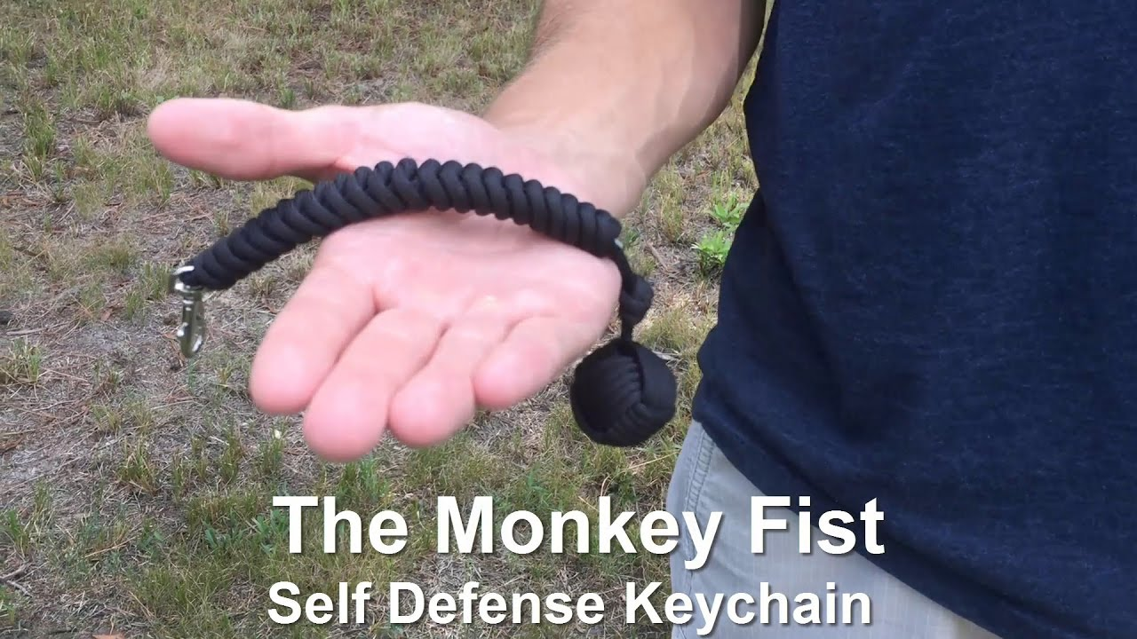 Monkey Fist Self Defense Keychain By Survival Hax Youtube