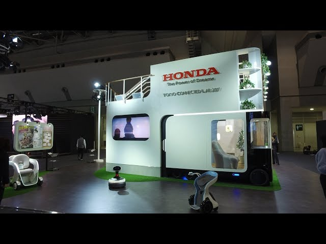 [TMS2017] Honda | TOKYO CONNECTED LAB 2017(ブース展示風景)