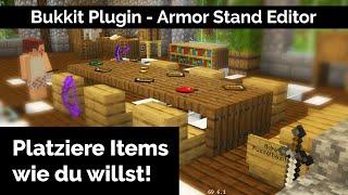 Bukkit Plugin – Armor Stand Editor Tutorial Deutsch