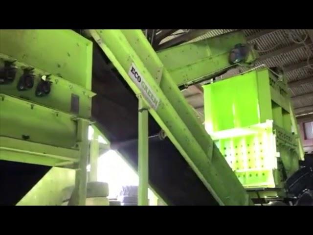 ECO Shredder for production of TDF & RDF