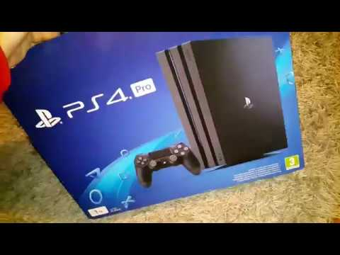 Playstation 4 Pro B Chassis Rev Cuh 7100 7116b Unboxing Difference Youtube