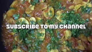 #MushroomCurry Mushroom Curry Recipe   How To Make Mushroom Masala Curry   Spicy Mushroom Gravy  