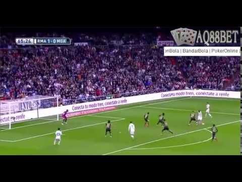 Bandar Bola - Highlights Pertandingan RealMadrid 3-1 Malaga 19/04/2015