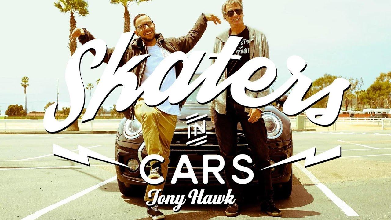 TONY HAWK: Skaters In Cars - Part 1 | X Games