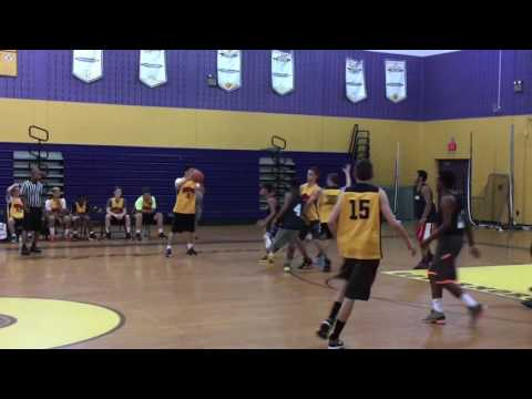 GMC Hoops Highlights--July 8, 2016--Koinonia Academy vs. AUL--Raritan Bay Summer League