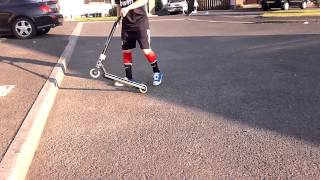 How to bunny hop on a stunt scooter