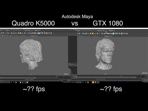 Older Quadro Or GeForce GTX 1080 For 3D Work