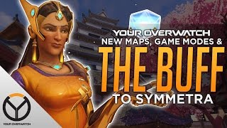 Overwatch: Symmetra BUFF is Coming! & NEW HEROES!