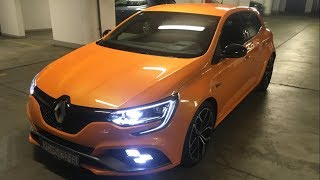 2018 RENAULT MEGANE RS Exhaust sound, pops and bangs, acceleration & review