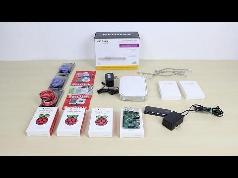 Raspberry Pi B+ Cluster (Super Computer) Part 1