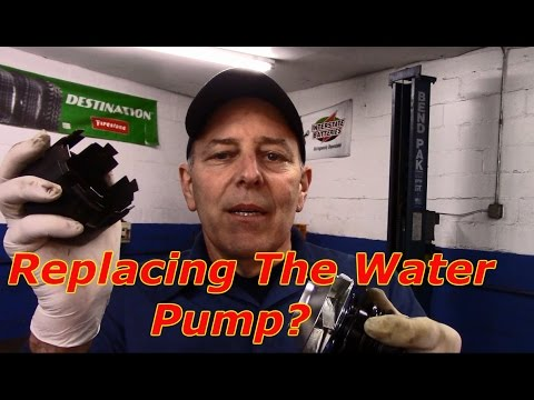 How to replace the water pump 2002 Cadillac Deville