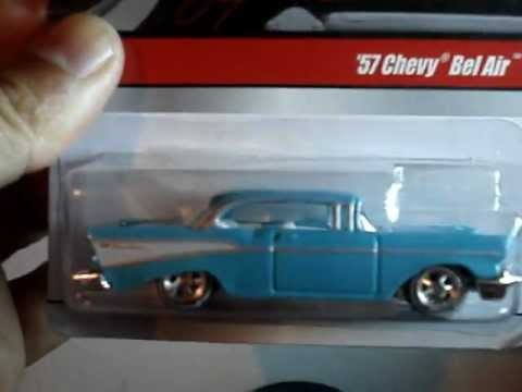 Hw 57 Chevy Bel Air Hot Wheels Larrys Garage 2009 By Mrco