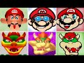 Evolution of Face-Lift Minigames in Mario Games (Mario and Bowser)