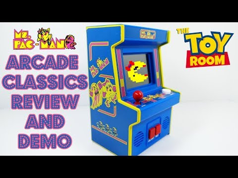 Arcade Classics Ms. Pac-Man Review & Gameplay Demo