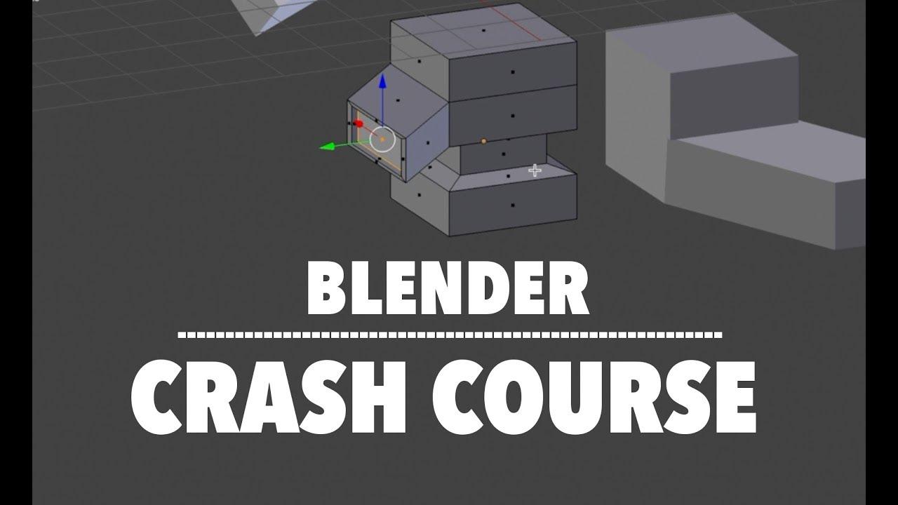 Blender complete beginner crash course youtube blender complete beginner crash course project blueprint malvernweather Images