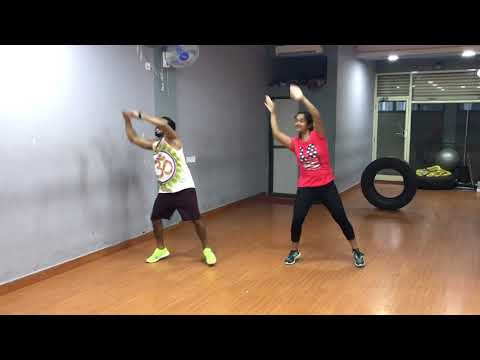 Oonchi hai building with Zin Prasad Wadekar and Dancefit Instructor Sanchari Hazarika