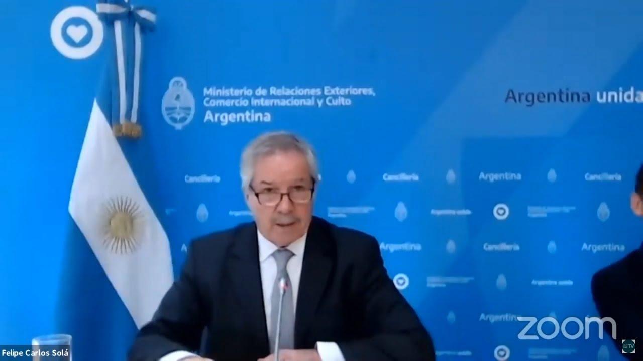 """Solá: """"Argentina seguirá defendiendo la vigencia de los DDHH en el mundo"""""""