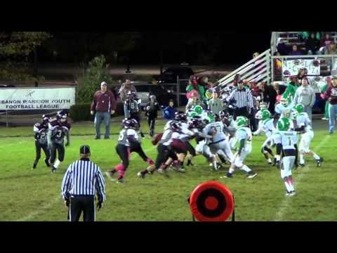 Week 7 10-4-14 6th Grade Northmont White WeeBolts vs Lebanon Silver WeeWarriors