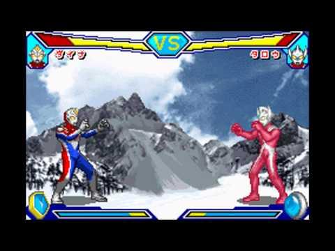 [VBA] Ultraman Dyna vs Ultraman Taro (win like a boss)