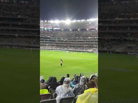 Collingwood Vs Geelong 16 07 2020 Pitch Invader Youtube