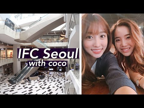 Going to the IFC Mall for the First Time! | Yeouido, Seoul